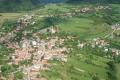 Jedľové Kostoľany - Centrum obce a časť okolia
