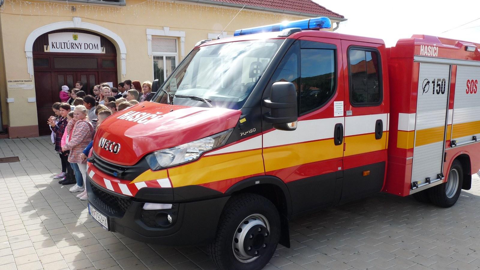 Nové zásahové vozidlo pre našich hasičov