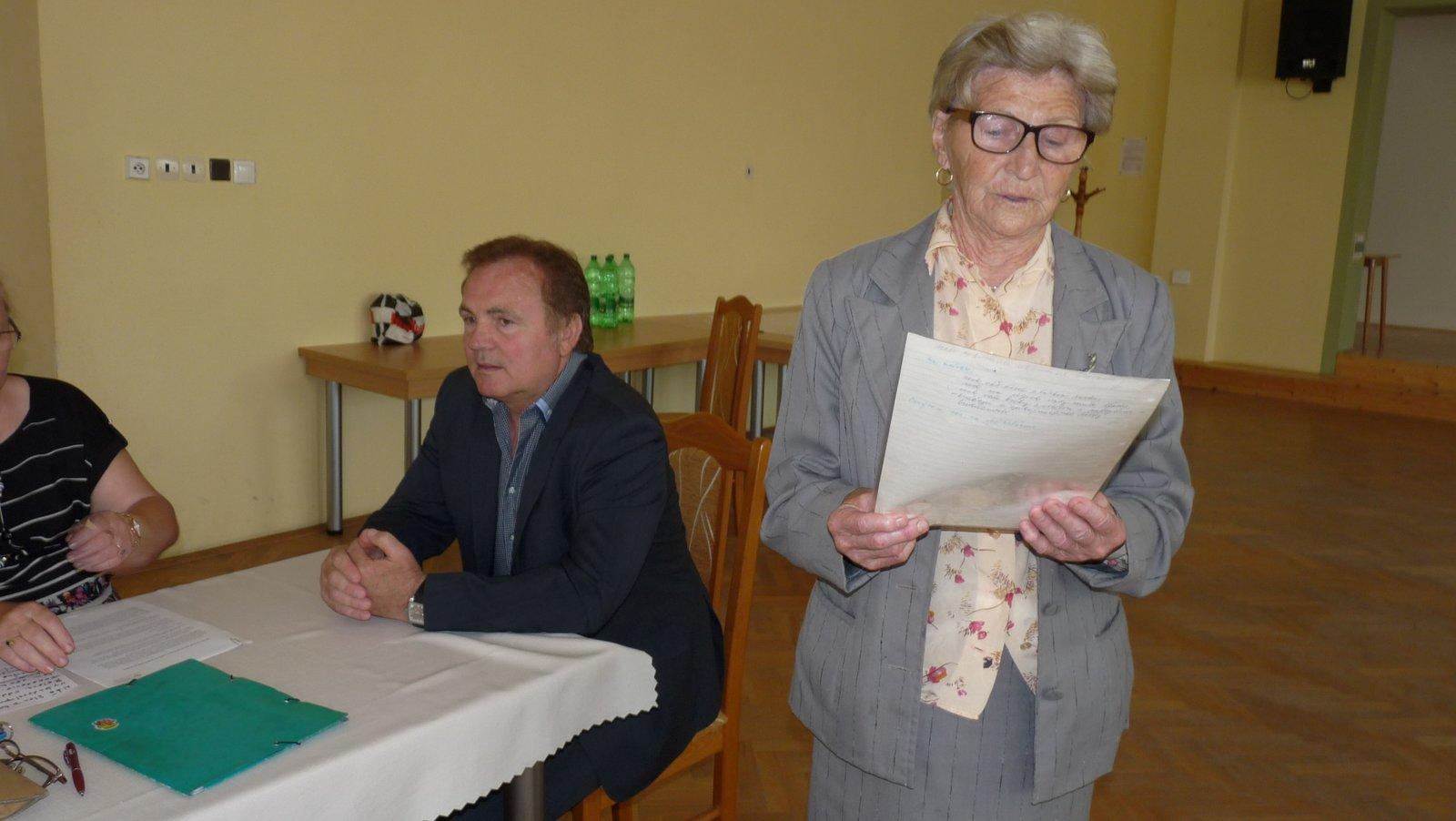 Výročná schôdza klubu dôchodcov