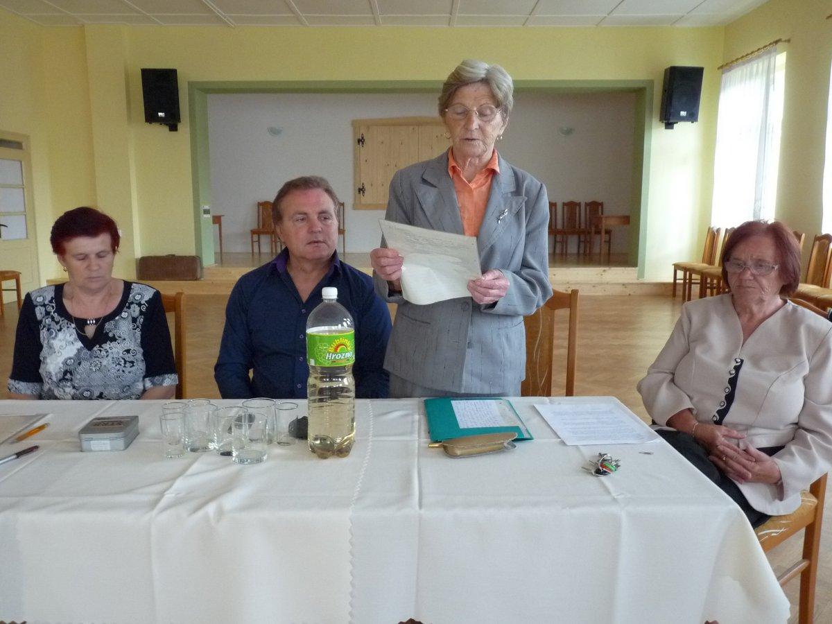 Výročná členská schôdza dôchodcov